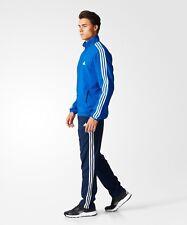 adidas Men's Light Track Suit Full Set - BK4105 - Blue / Navy