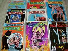 Lot of 8 WARLORD comics. #63-70.  All VF
