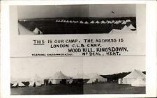 Kingsdown. Our Camp, Wood Hill near Deal.