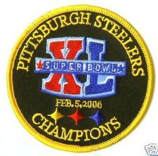 SUPER BOWL XL 40 PITTSBURGH STEELERS AFC NFL SUPER BOWL 40 SB 40 CHAMPIONS PATCH