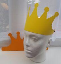 CROWN 32x14cm die cut card prince prince & elastic birthday craft kit party
