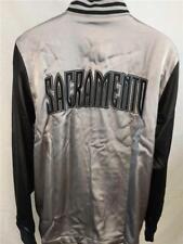 New Sacramento Kings Mens M-L-2XL-XL-3XL-4XL-5XL+2 On Court 2nd Half Jacket $100
