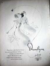 1946 Vintage DWALYNE Handmade Night and Day Dreams Lingerie Slip Ad