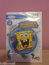 Nintendo WII U Draw Spongebob Squiggle Pants Sealed