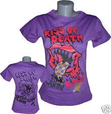 FUN-Shirt Shirt T-Shirt KISS OF DEATH Rock Punk NEU TOP
