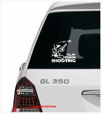 Paloma de disparo caza Skeet trampa de arcilla Shootgun-Auto Adhesivo Calcomanía