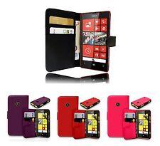 Pour Microsoft Lumia 520 / 525 Etui Housse Portefeuille + 1 Film offert