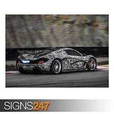McLaren P1 (AA861) de potencia coche Poster-FOTOS arte cartel impresión A0 a A4