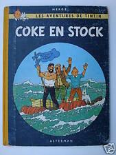 TINTIN COKE EN STOCK - B31 - 1962