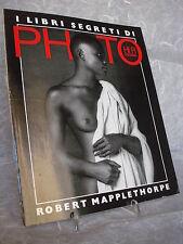 CATALOGO ROBERT MAPPLETHORPE G. CELANT SUPPLEMENTO PHOTO HI-FI ITALIANA 1983