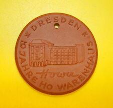 Böttger Medaille 10 Jahre Howa HO Warenhaus DRESDEN