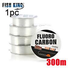 Cebo de poliester Linea de pesca Carrete de hilo elastico Fluorocarbono