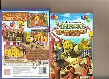 SHREK Carnival Craze Party Games PLAYSTATION 2 PS2 PS 2 Famiglia