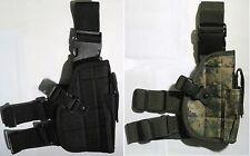 New Tactical Leg Pistol Holster Black/Marpat--Airsoft Game