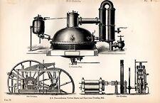 1880 impresión ~ azúcar vacío pan sin condensación Vertical Motor caña de azúcar Crusher