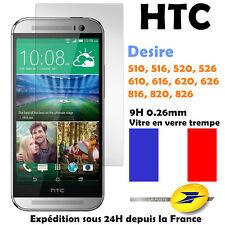 Schutzglas Film Bildschirmschutz Sicherheitsglas HTC Desire, One