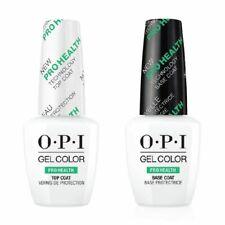 OPI Gel Colour PRO HEALTH technology base coat top coat nail polish - 15ml