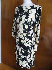 Ralph Lauren Women's Multi Color Lined NWT Dress Size 6 8 14