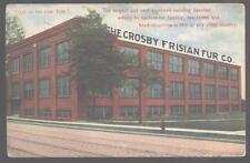 Postcard ROCHESTER,New York/NY  Crosby Frisian Fur Co Factory view 1907?