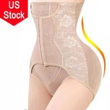 Women Tummy Control High Waist Panty Bodysuit Body Shaper Seamless Shapewear US