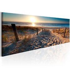 MEER LANDSCHAFT NATUR STRAND Wandbilder xxl Bilder Vlies Leinwand c-B-0134-b-a