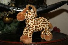 "Wild Republic Tumblers Giraffe 6"" Plush finger Puppet Toy   H2"