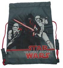 Star Wars | Kylo Ren | Stormtrooper | Elite Squad Grey Trainer | Drawstring Bag