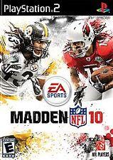BRAND NEW Sealed Madden NFL 10 (Sony PlayStation 2, 2009)