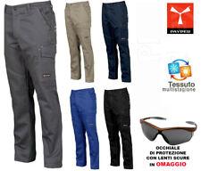 Pantaloni da Lavoro 100% Cotone Multistagione Payper Worker Multitasche Uomo