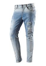 Fornorina BETSY, Damen Boyfriend Jeans, Hellblau W26, 29 L30