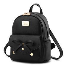 Women Girl Leather Shoulder School Bag Backpack Travel Satchel Rucksack Handbag