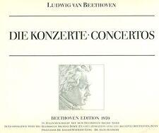 BEETHOVEN DIE KONZERTE WILHELM KEMPFF FERDINAND LEITNER 4-LP's (L7800)