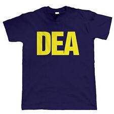 DEA, Mens Ganja Reggae Hip Hop T Shirt