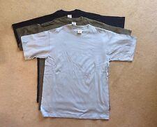 Brand new Jerzees ZT180 men's t-shirt, size S, Olive, Navy, Sky Blue