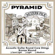 PYRAMID Western Folk AKUSTIK GITARRE BRONZE Saiten SATZ