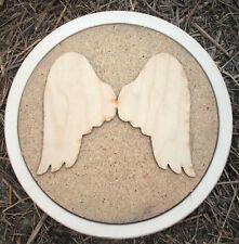 angel stepping stone plastic mold concrete plaster