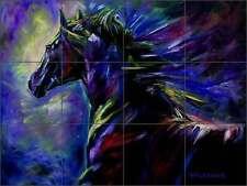 Ceramic Tile Mural Kitchen Backsplash Williams Horse Equine Art DWA004