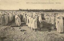 CPA AFRIQUE ALGERIE LA GRANDE PRIERE RAMADAN