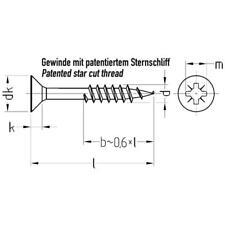 JD Plus Universalschrauben Senkkopf-Z Teilgewinde Stahl galvanisch verzinkt