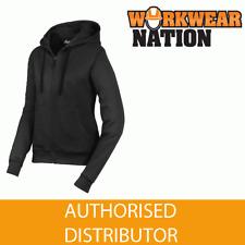 Snickers 2806 Womens Full Zip Work Hoodie Sweatshirt, NEW RANGE - BLACK