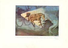 Cecil Aldin-colore Cavallo Stampa presto 1900 S