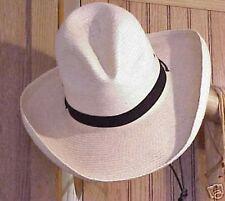 """SUNBODY """"GUS"""" CREASE 4"""" PALM COWBOY WESTERN HAT"""