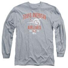 AIRPLANE TRANS AMERICAN T-Shirt Men's Long Sleeve