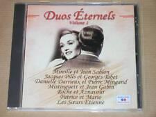 CD / DUOS ETERNELS VOLUME 1 / TRES BON ETAT