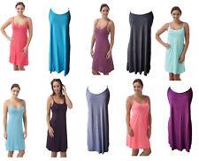 Ladies Soft Touch Chemise / Nightie / Slip Range of Colours Size- 8 - 22