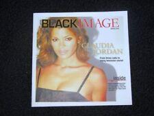 Las Vegas Black Image Magazine Claudia Jordan Issue NEW
