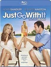 Just Go With It (Blu-ray Disc, 2011, Canadian) -- Adam Sandler, Jennifer Aniston