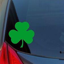 Shamrock vinyl sticker decal car truck locker Irish lucky St Patrick's Boston