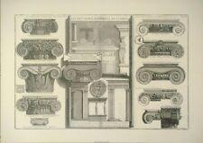 Ariel stampa Stampa storica-LATINA architettura 49x70cms VINTAGE LATINO STAMPA