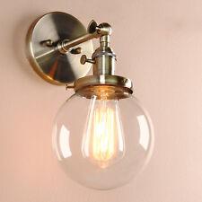 New Fashion Wall Lamp Lamp Glass 70s Rectangular 100% Original Antique Furniture